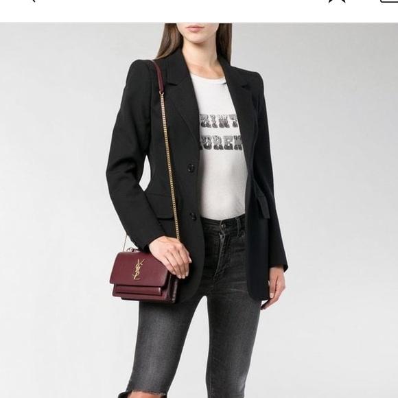Saint Laurent Handbags - Saint Laurent Sunset Chain Wallet Crossbody bag